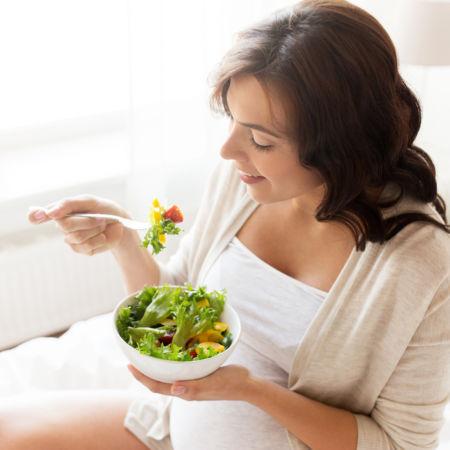 Gravidez saudável: mantendo bons hábitos alimentares.